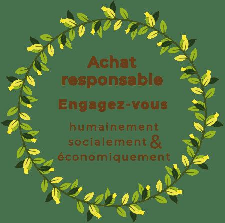 Achat responsable et engagé entreprise française éthique