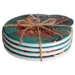 Set de table rond résistant et durable