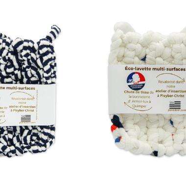 Pourquoi choisir une éco éponge en forme de lavette réutilisable plusieurs années -100 % recyclée